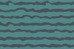 Vector golvend zeevaart naadloos patroon stock illustratie
