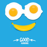 Vector good morning funny concept vector Stock Images