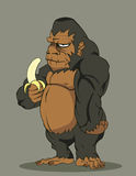 Vector gorilla Royalty Free Stock Images