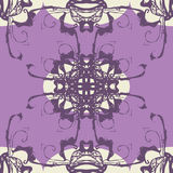 Vector gothic seamless pattern Stock Photography