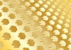 Vector gouden achtergrond Stock Fotografie