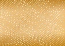 Vector gouden achtergrond van ster Royalty-vrije Stock Afbeeldingen