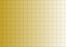Vector gouden gradiëntachtergrond met vierkanten of cellen stock illustratie