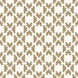 Vector gouden naadloos patroon in Japanse stijl Ontwerp van het luxe het Aziatische ornament voor decor, stof Royalty-vrije Stock Afbeeldingen