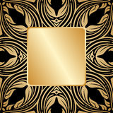 Vector gouden ornament. Stock Foto's