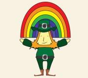 Leprechaun Ilustración del Vector