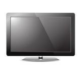 Monitor del Lcd TV   Ilustración del Vector