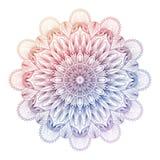 Vector gradient mandala. Colorful gradient mandala. stock illustration
