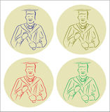 Vector Graduation Stock Photo