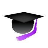 Vector graduation cap Stock Photography