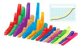 Vector grafiek Royalty-vrije Stock Foto