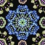 Vector grafisch, artistiek, romantisch beeld van naadloos patroon wat vector illustratie