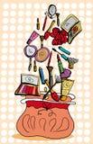 Kosmetische zak Royalty-vrije Illustratie
