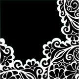 Vector grafische bloemenachtergrond Royalty-vrije Stock Foto
