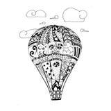Vector grafische Illustratie van ballon Royalty-vrije Stock Fotografie