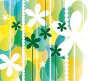 De lente bloeit achtergrond Stock Illustratie