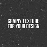 Vector grain Texture like a Snow, Dust or Sand Royalty Free Stock Photography