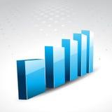 Vector graph Stock Photos