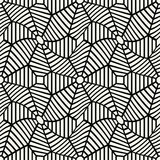 Vector graphic abstract geometry grid pattern. black and white web seamless geometric background. Subtle pillow and bed sheet design. unique art deco. hipster vector illustration