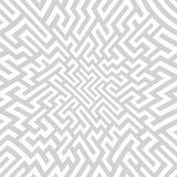 Vector graphic abstract geometry maze pattern. Subtle seamless geometric background . subtle pillow and bed sheet design. unique art deco. hipster fashion royalty free illustration
