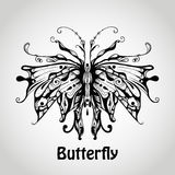 Vector Graphic Butterfly Royalty Free Stock Photography