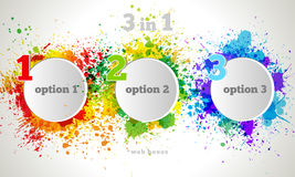 Free Vector Graphic Design Button And Labels Template. Stock Photo - 37717070