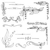 Vector graphic elements for design Hand drawn vector illustration