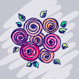 Vector graphic illustration Royalty Free Stock Image