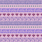 Vector graphic illustration, seamless pattern Royalty Free Stock Images
