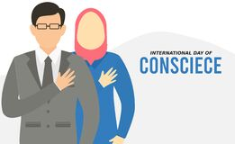 Free Vector Graphic Of International Day Of Conscience Good For Day Of Conscience Celebration. Royalty Free Stock Image - 212243246