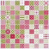 Vector graphic vintage textures created with squares, rhombuses Stock Photos