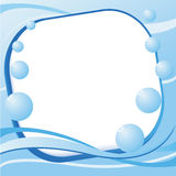 Vector graphic water layout Stock Image