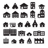 Vector of graphical urban building EPS10 Royalty Free Stock Photography