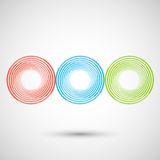 Vector graphics abstract design eps10 Stock Image