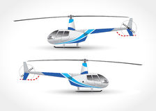 Vector graphics for copter. Vector illustration Royalty Free Stock Image