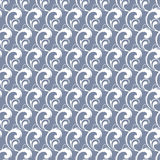 Vector Gray Abstract Waves Swirls Seamless de plata Fotos de archivo