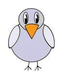 Vector gray bird Royalty Free Stock Image