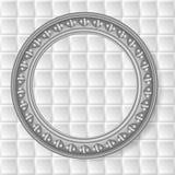Vector gray circular frame Royalty Free Stock Photos