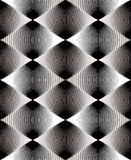 Vector gray stripy endless overlay pattern, art continuous geome Royalty Free Stock Images