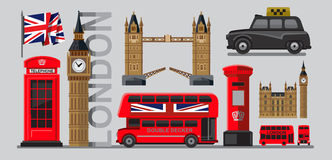 Vector great britain Royalty Free Stock Photos