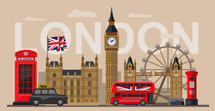 Vector great britain Royalty Free Stock Photography