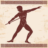 Vector Greek drawing. Royalty Free Stock Image