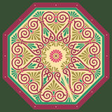 Vector greek ornament. Rosetta EPS 8.0 file available Royalty Free Stock Photo
