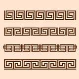 Vector Greek ornament. Stock Images