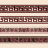 Vector Greek ornament. Royalty Free Stock Photos