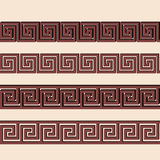 Vector Greek ornament. Stock Image