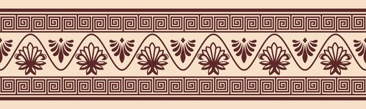 Vector Greek ornament. Stock Image