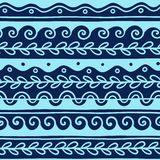 Vector Greek wave and meander decorative elements set. Traditional seamless vintage elements with greek patterns, meander. Seamless border vector ornament royalty free stock image