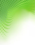 Vector Green Abstract Background Tempate Stock Image