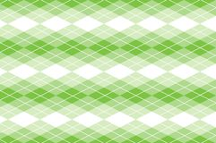 Vector Green Argyle Stock Photography